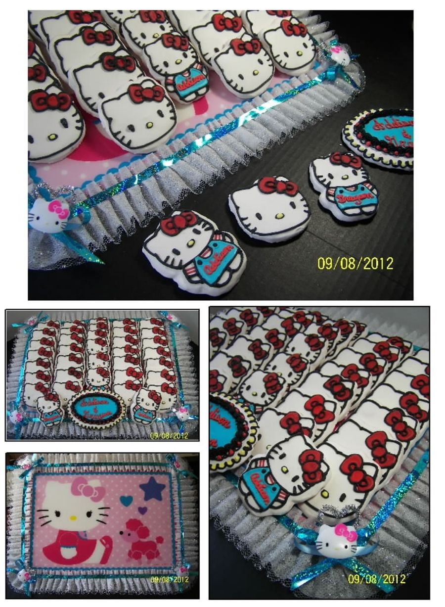 Hello Kitty Cookie Tray on Cake Central