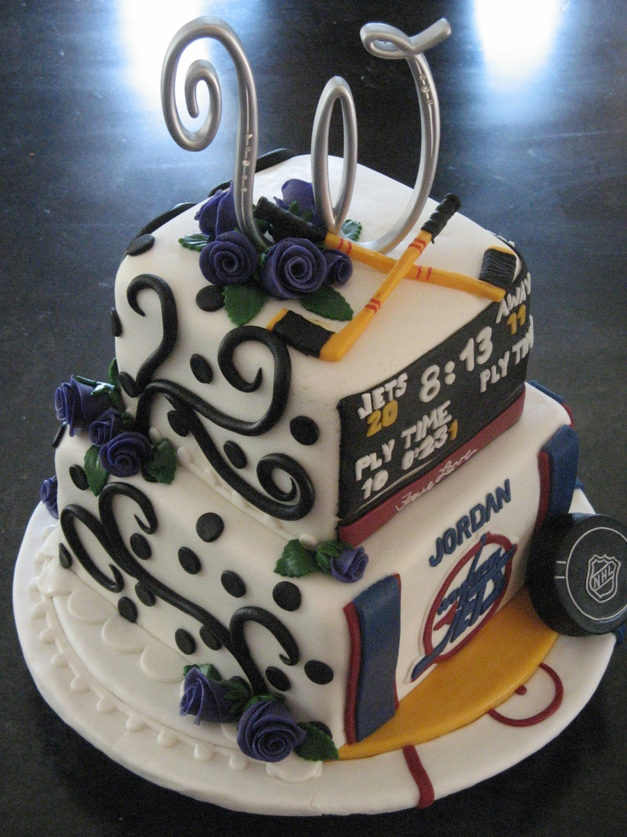 hockey themed wedding cakes formal hockey wedding cake cakecentral 15261