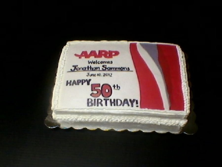 Aarp 50Th Birthday on Cake Central