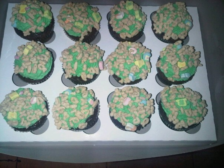 Lucky Charm Cupcakes on Cake Central