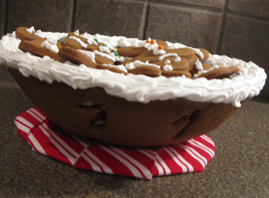 Gingerbread Bowl on Cake Central