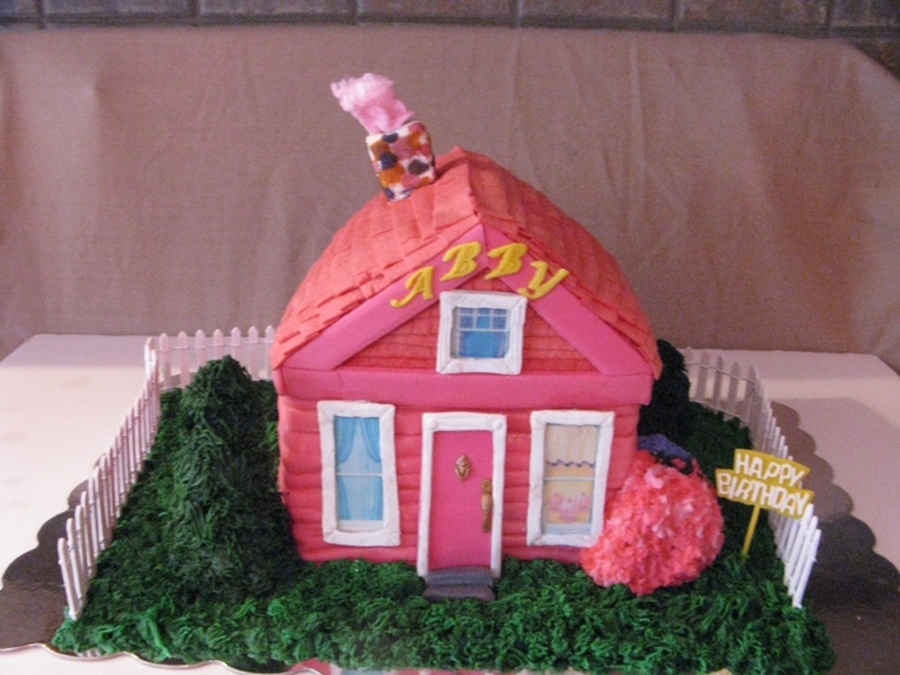 Pinkalicious's House on Cake Central