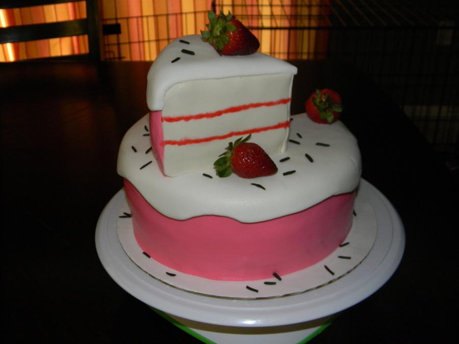 Cake Slice Birthday Cake - CakeCentral.com