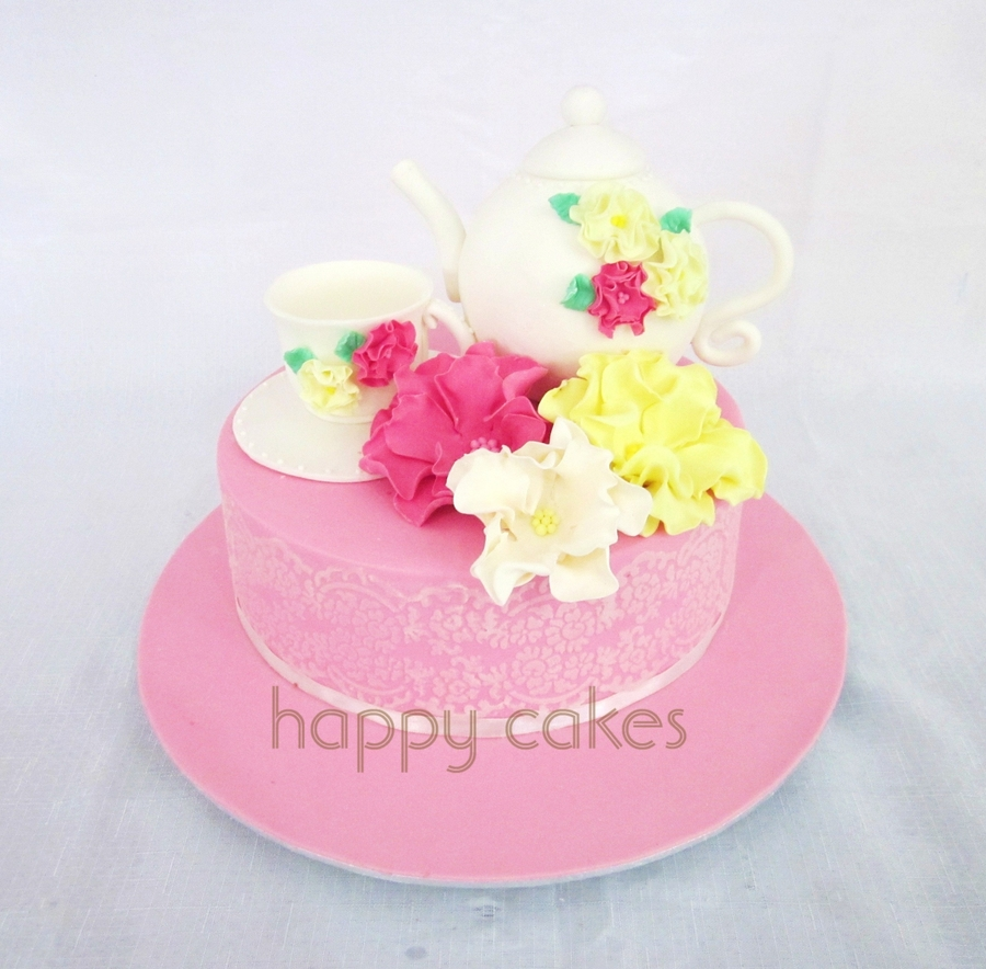 High Tea Birthday Cake Cakecentral