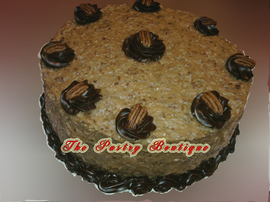 German Chocolate on Cake Central