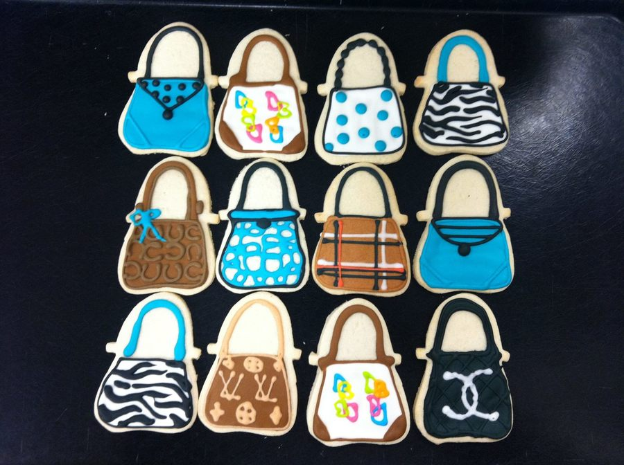 Purse Cookies on Cake Central