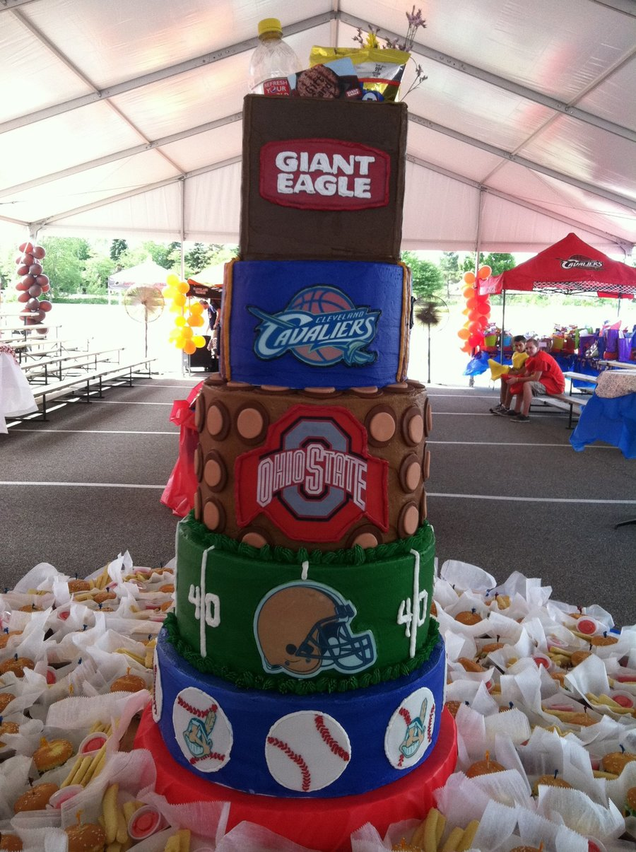 Ohio Sports on Cake Central