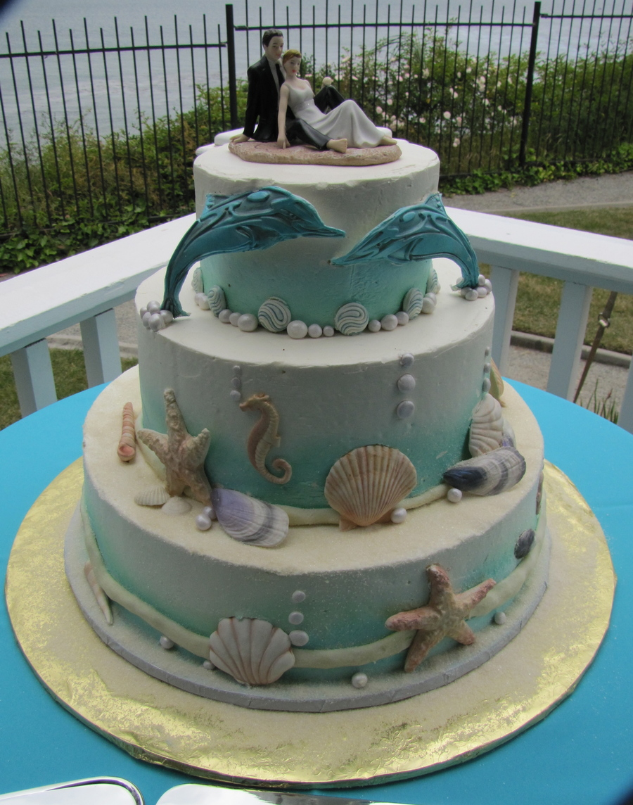 Ocean Themed Cake on Cake Central