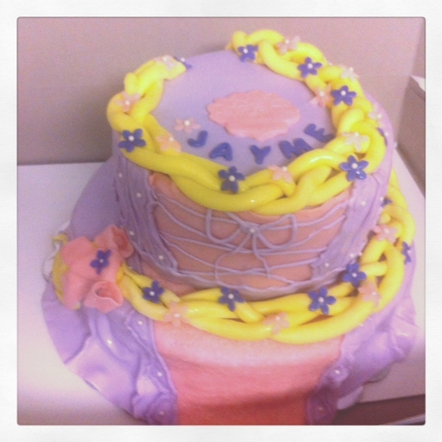 Disney's Tangled on Cake Central