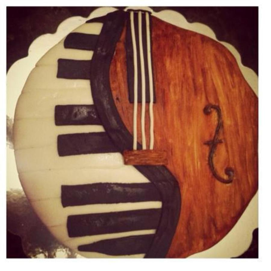 Piano/cello on Cake Central