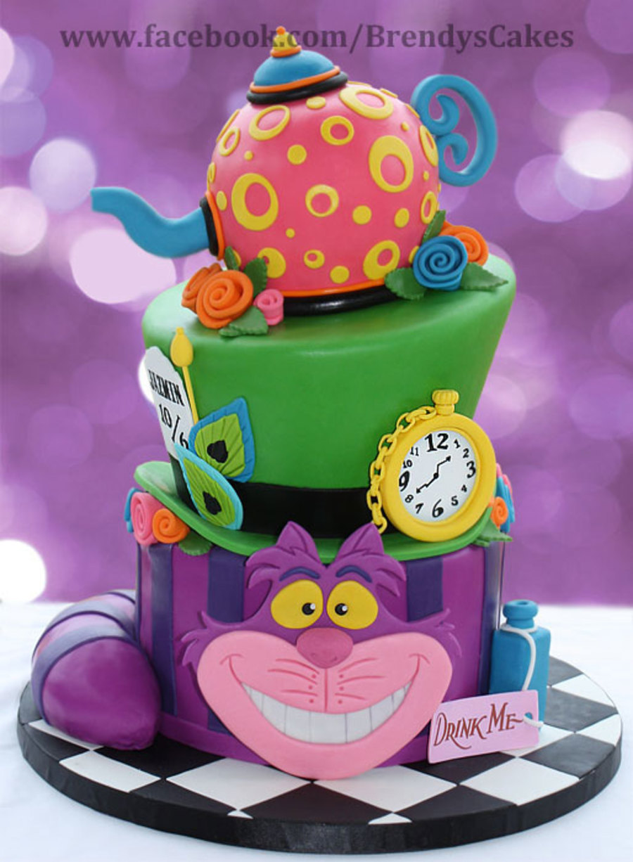 Alice In Wonderland Birthday on Cake Central