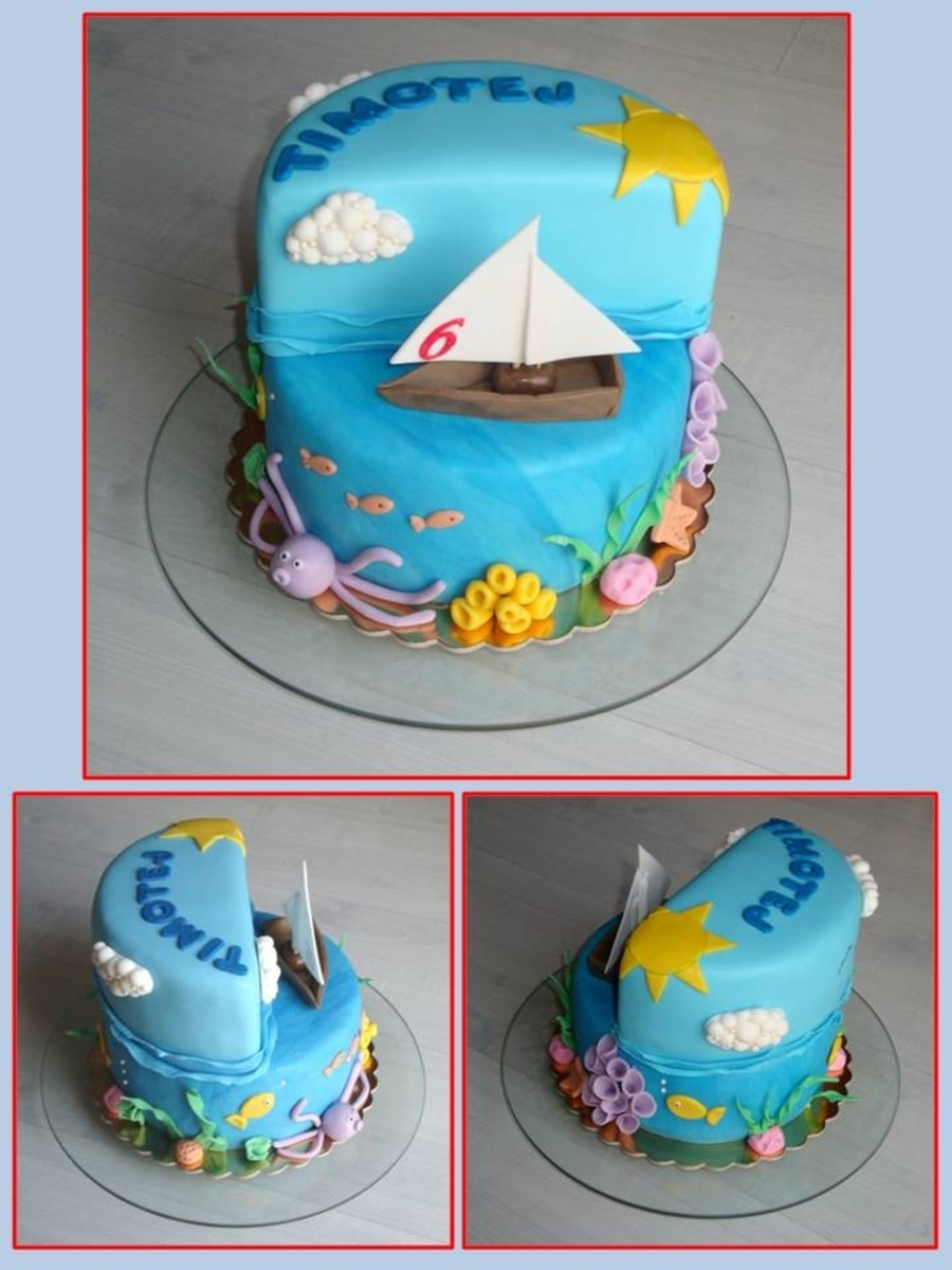 Under And Above The Sea Cake on Cake Central