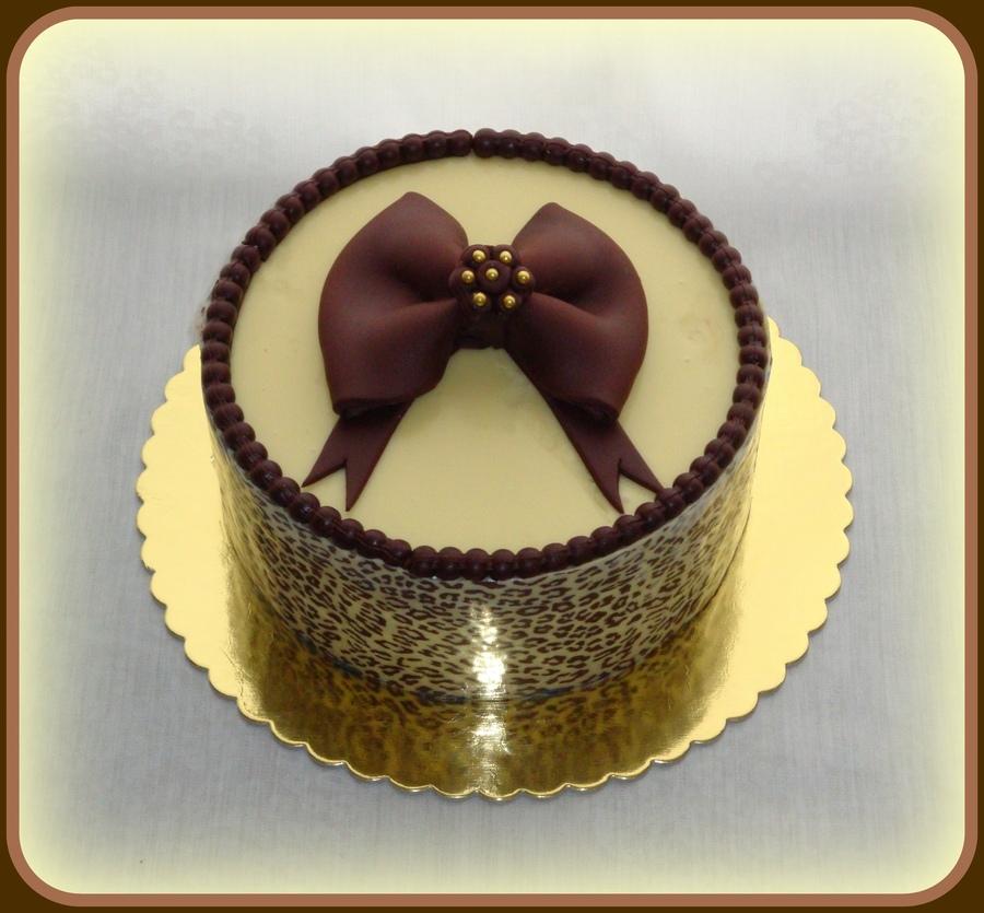 Elegant Birthday Cake CakeCentralcom