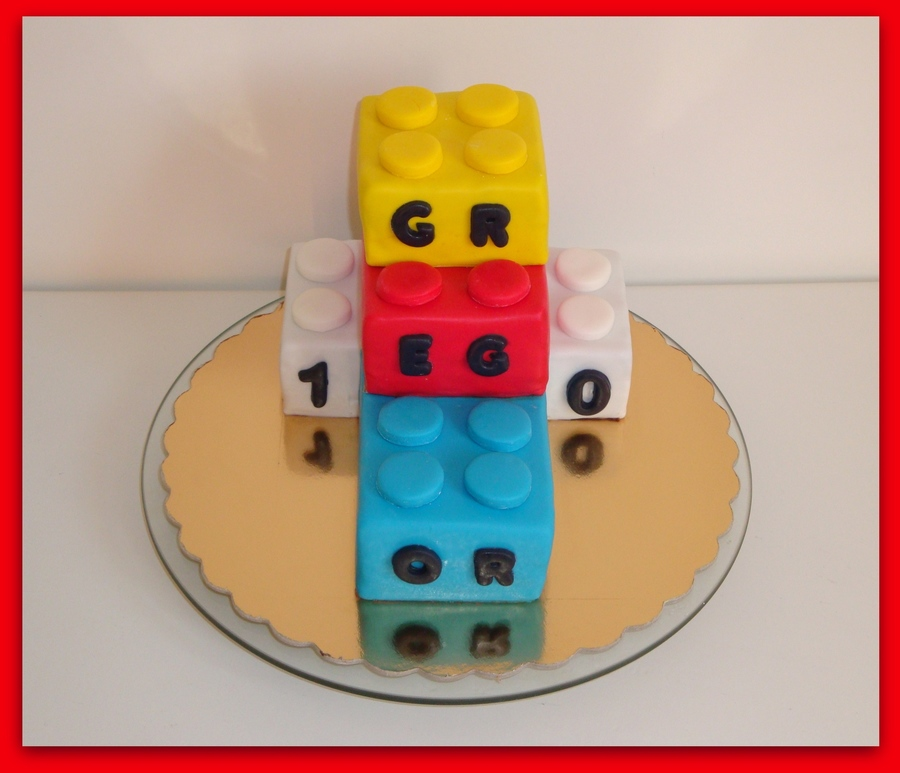 Lego Bricks Cake on Cake Central