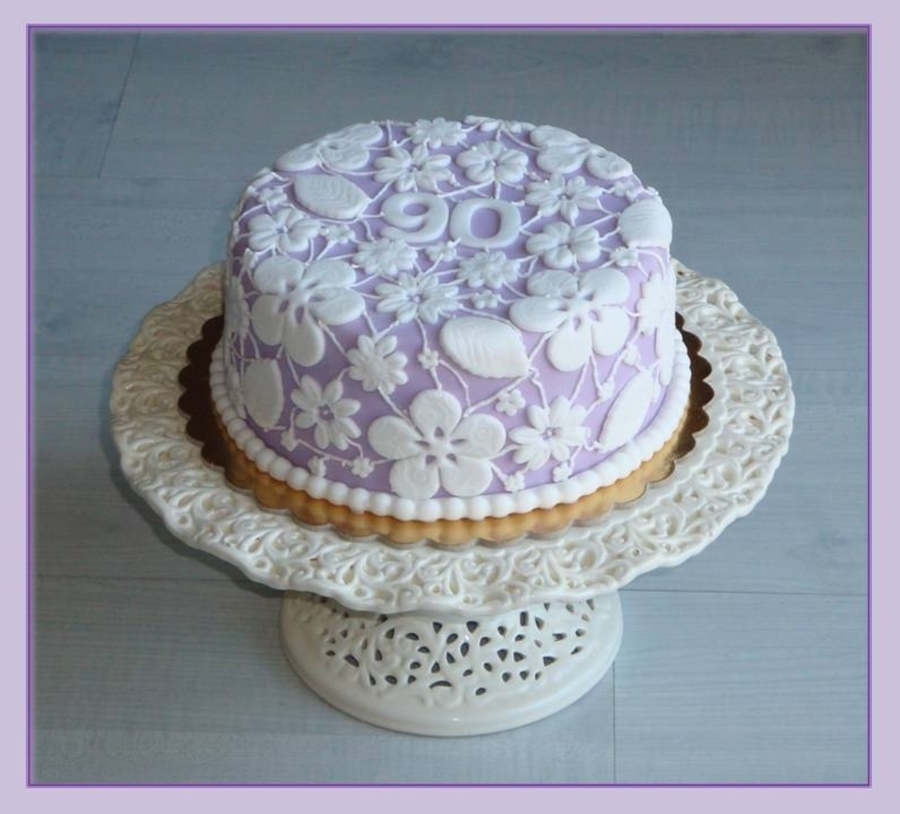 Lace Cake on Cake Central