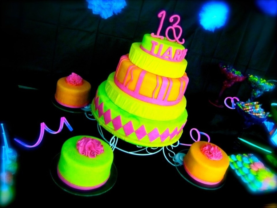 Rainbow Party Cake Ideas