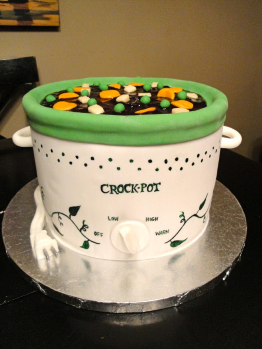 Debbies Crock Pot Cake Cakecentral Com