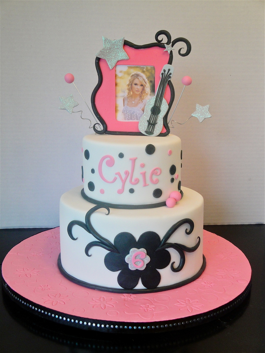 Taylor Swift Cake Cakecentral Com