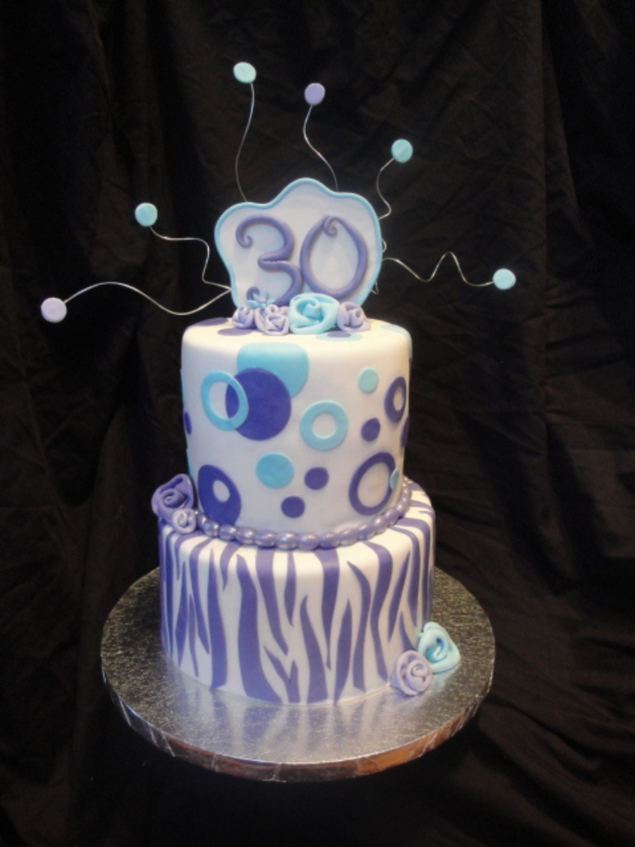 30Th Birthday Cake - CakeCentral.com