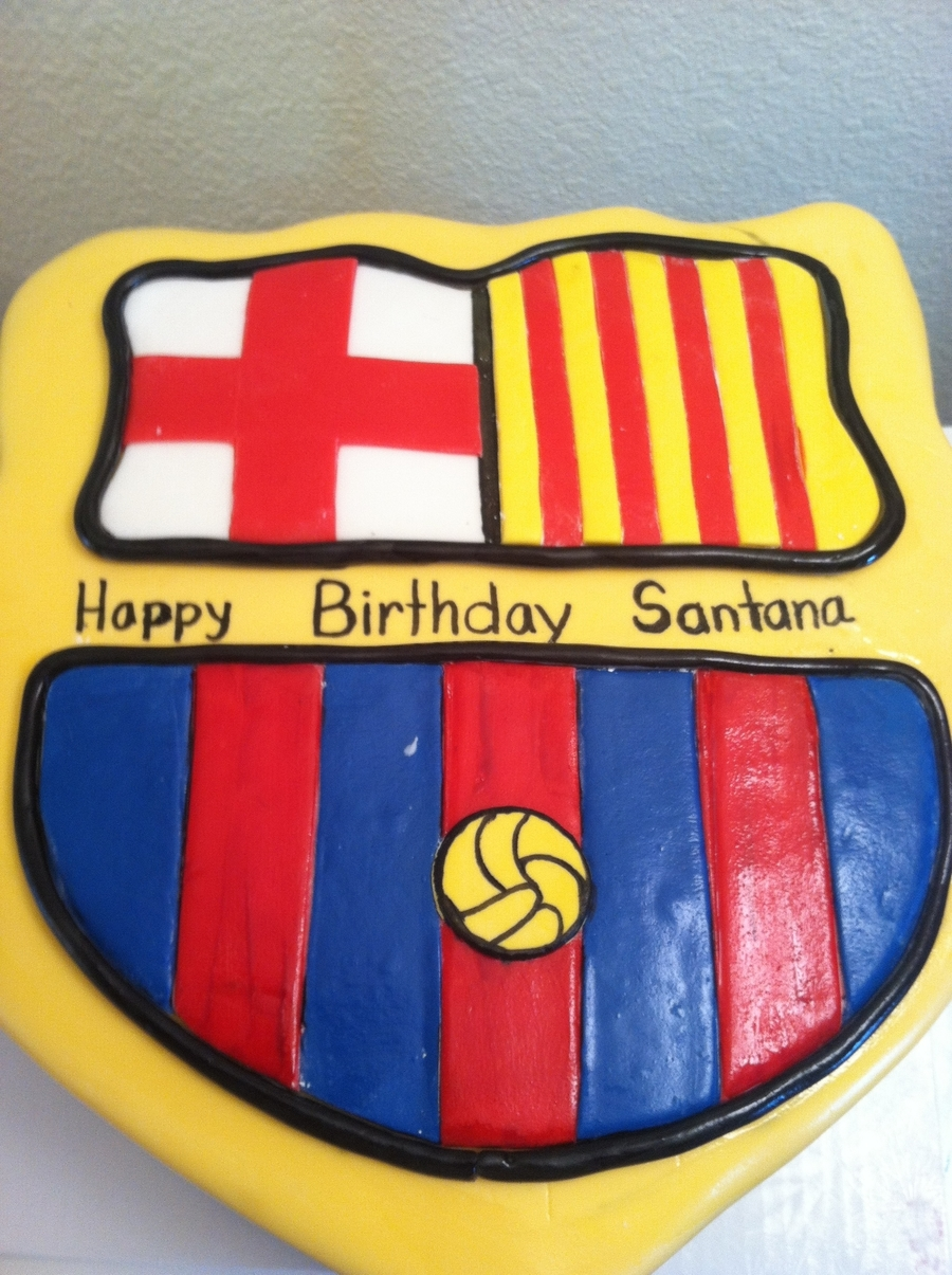 Barcelona on Cake Central