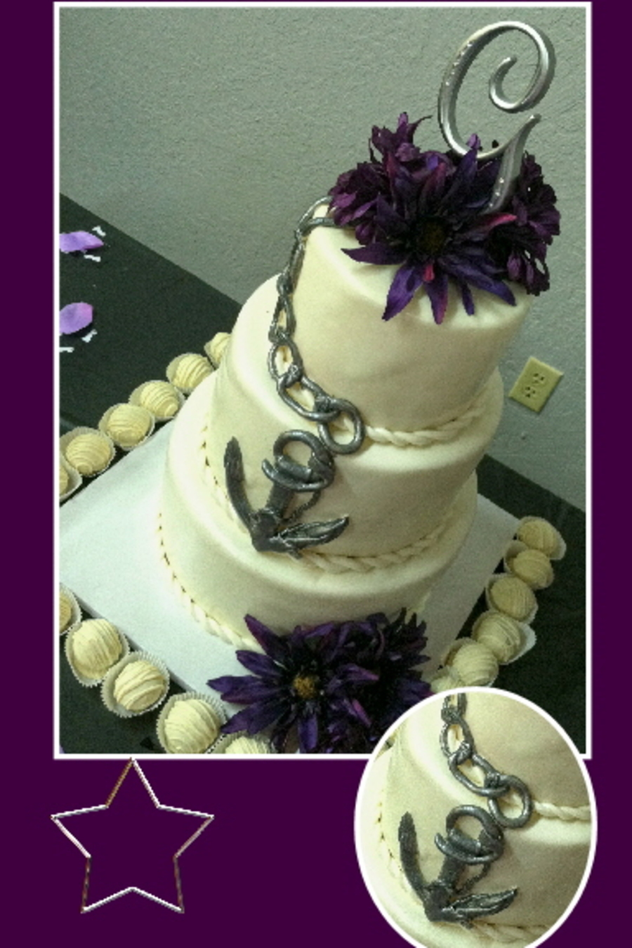 Naval Wedding Cake on Cake Central