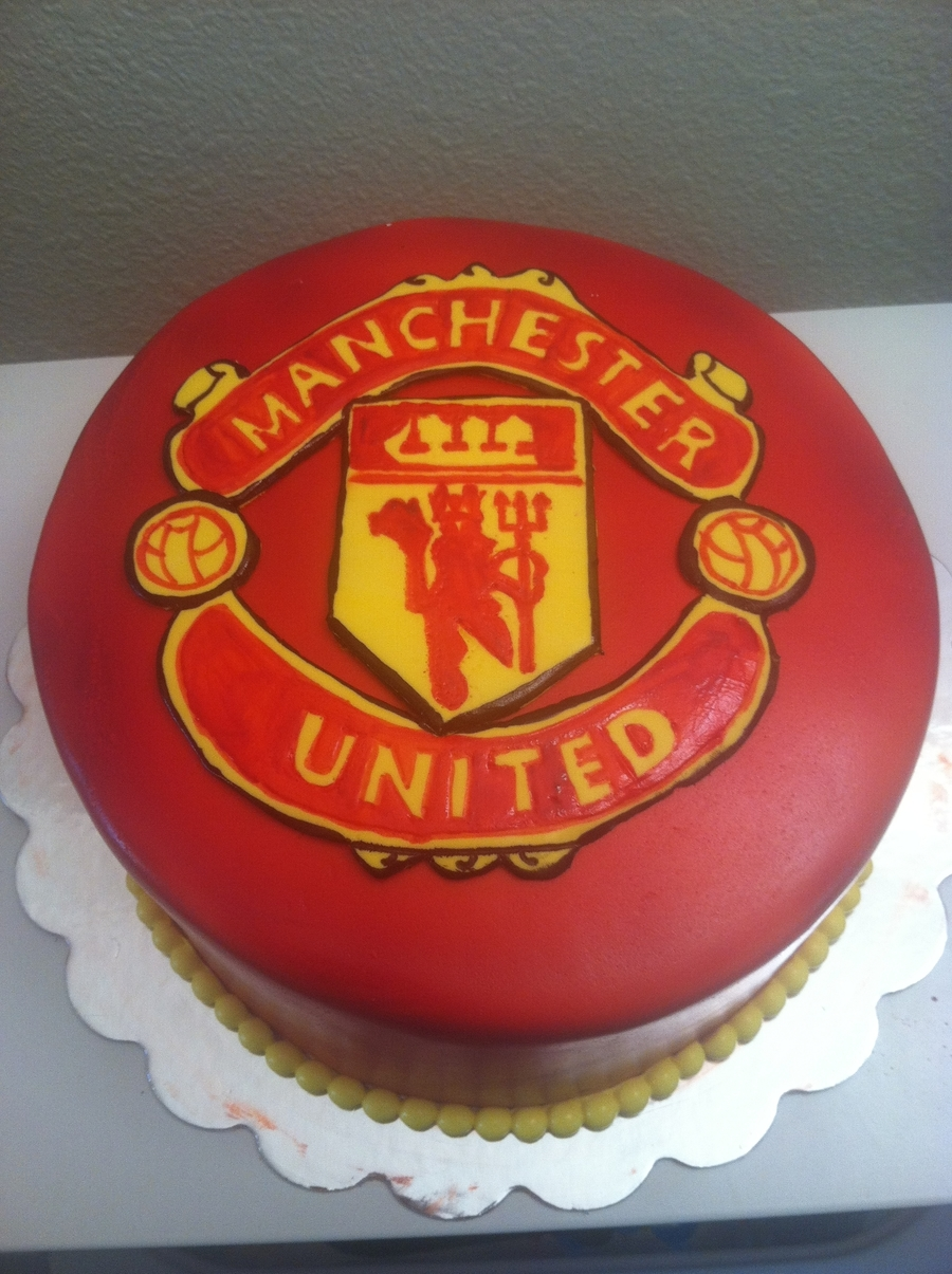Manchester United Football Club on Cake Central