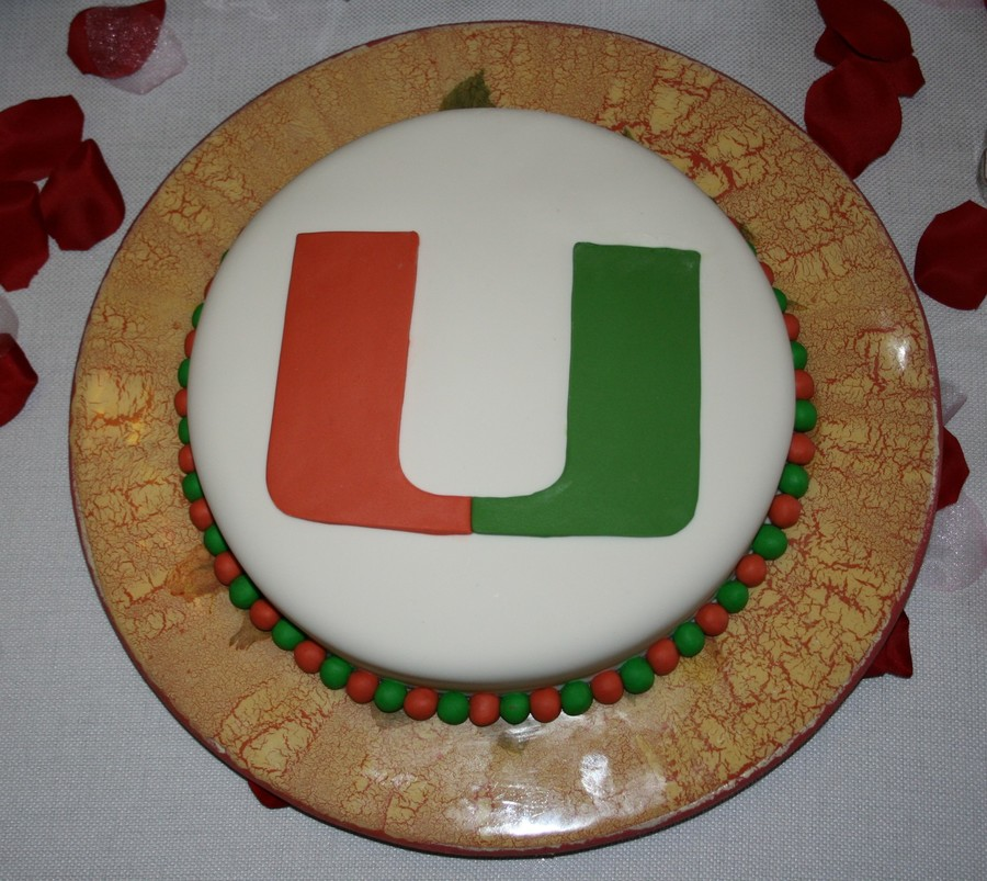 University Of Miami on Cake Central