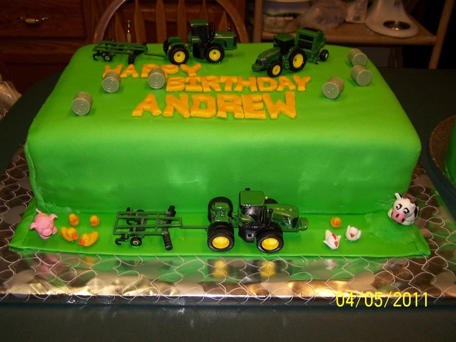 Andrews 1St Birthday Cake on Cake Central