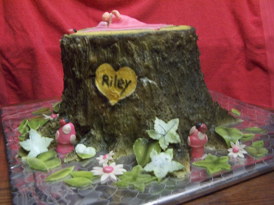 Baby Realtree Themed Cake on Cake Central