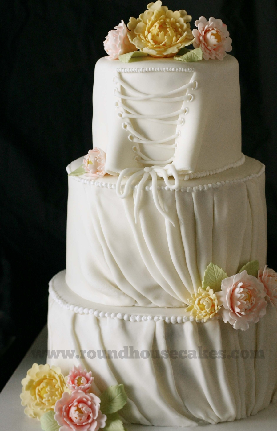 His And Her Wedding Cakes Cakecentral Com