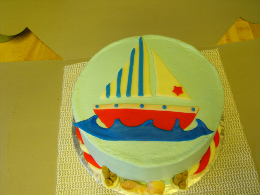 Come Sail Away on Cake Central