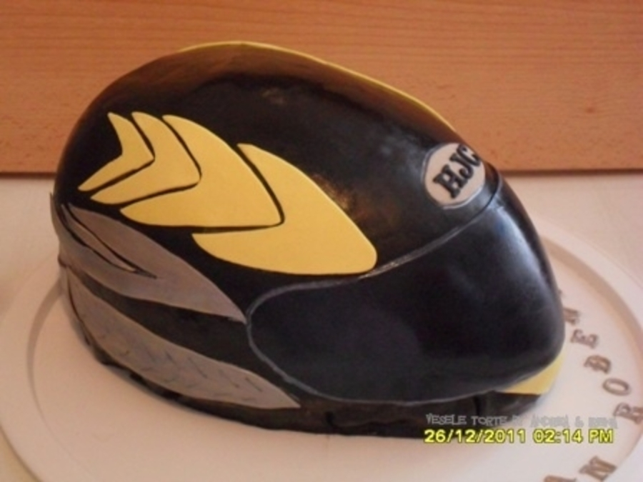Hjc Helmet on Cake Central