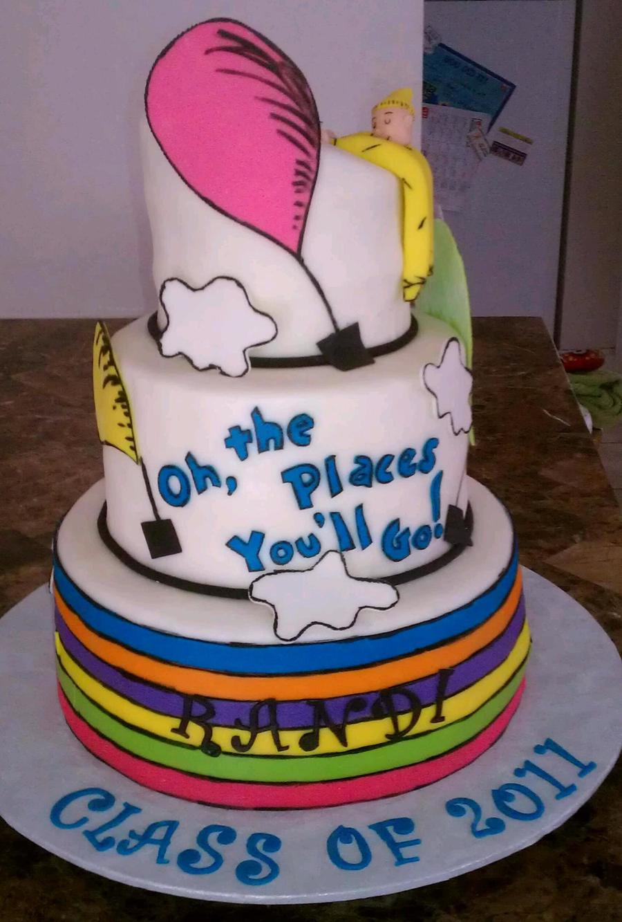 Funny High School Graduation Cakes
