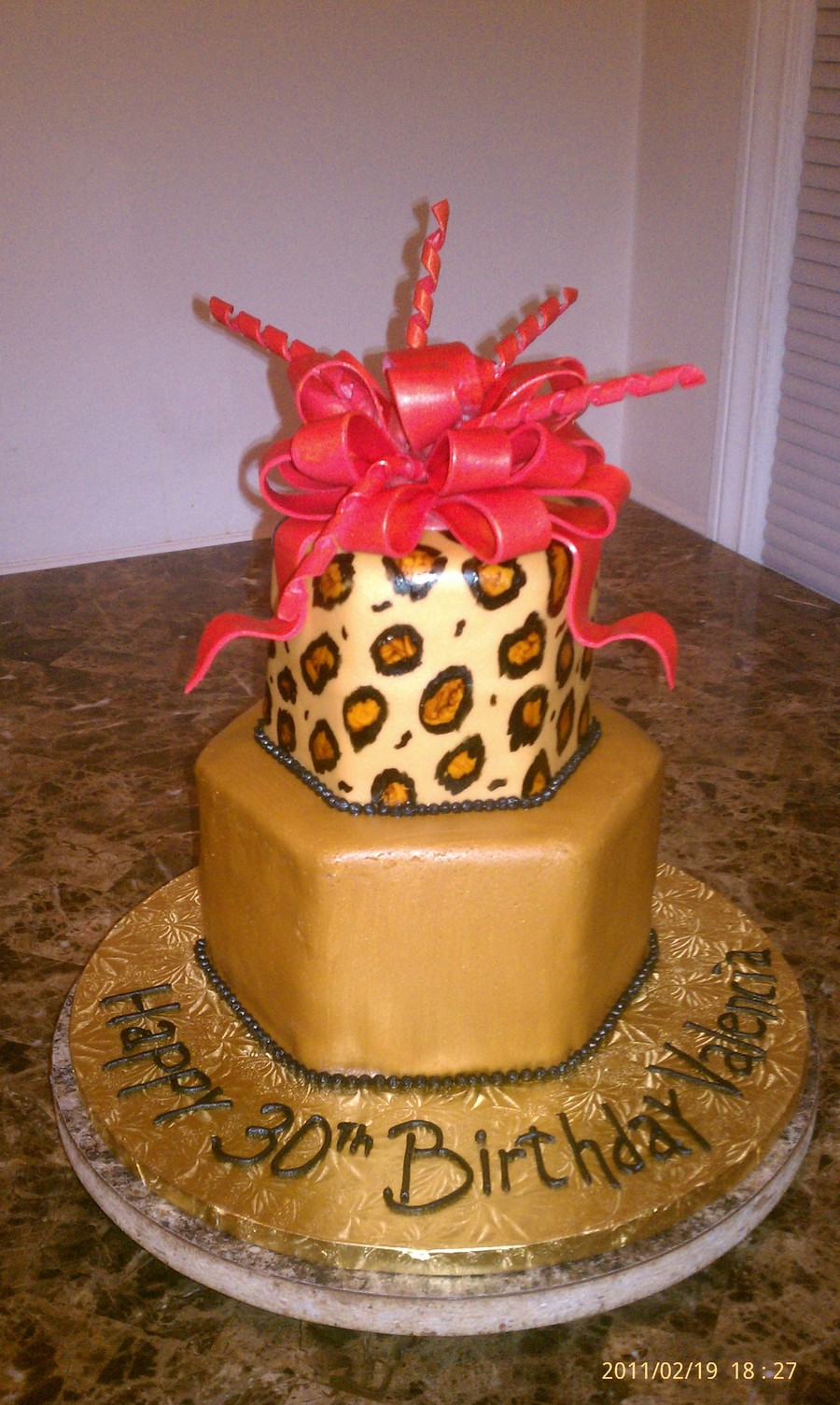 Leopard And Tan on Cake Central