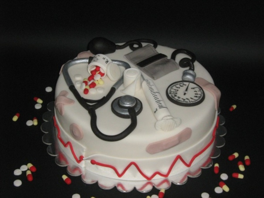 Birthday Cake Images For Doctors : Medical Cake - CakeCentral.com
