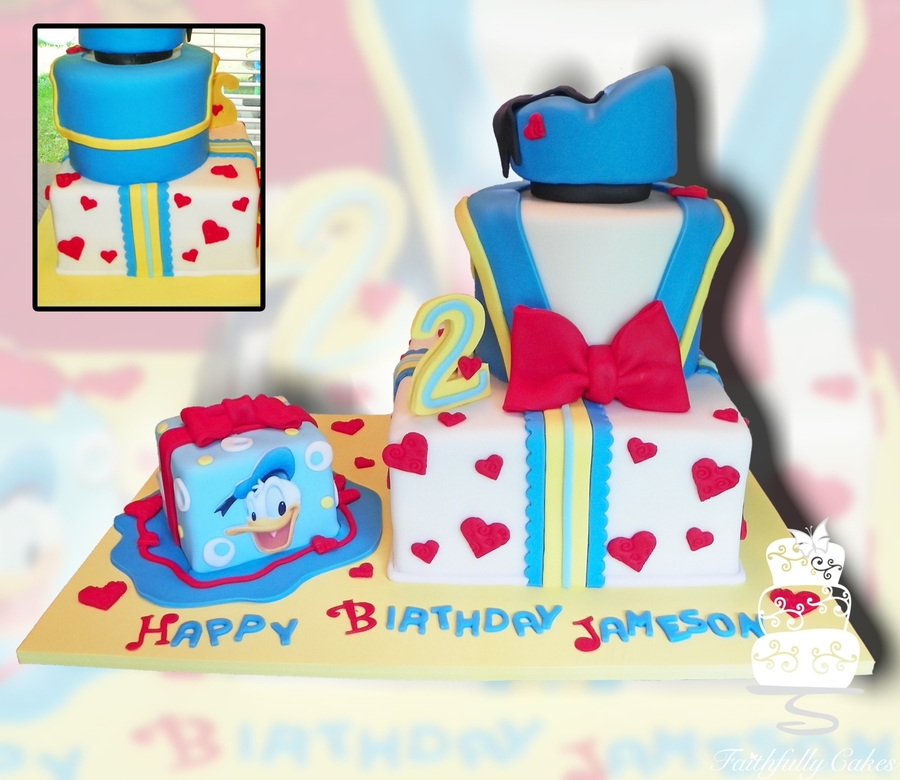 Donald Duck 2Nd Birthday on Cake Central