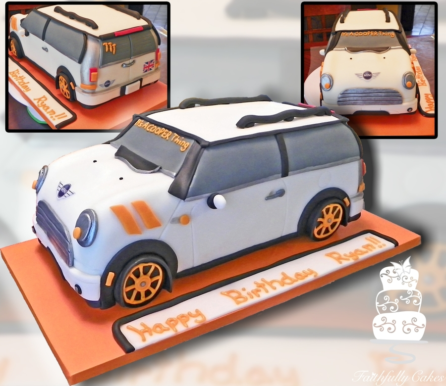 Mini Cooper Birthday on Cake Central
