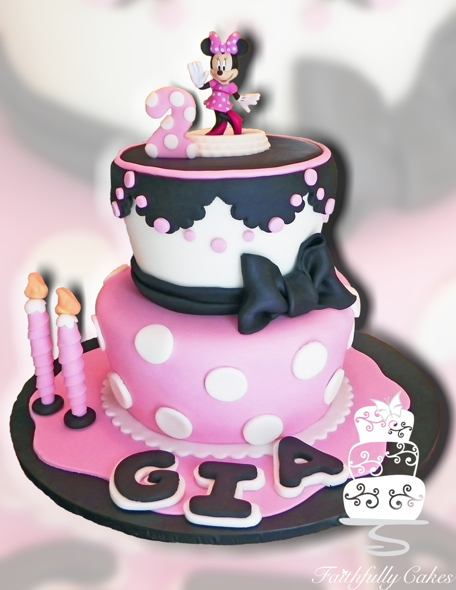 Gia Lopez Minne Mouse 2Nd Birthday on Cake Central