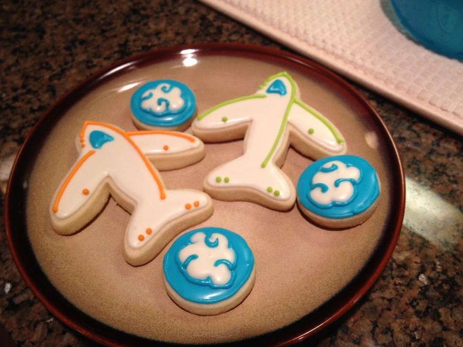 Airplane Cookies on Cake Central