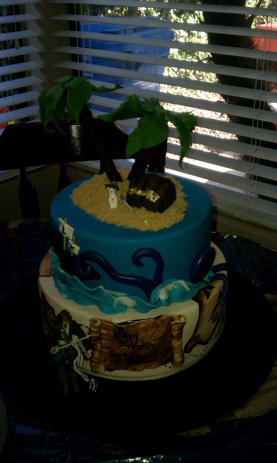 Tremendous Pirate Daniels 1St Birthday Cakecentral Com Funny Birthday Cards Online Aeocydamsfinfo