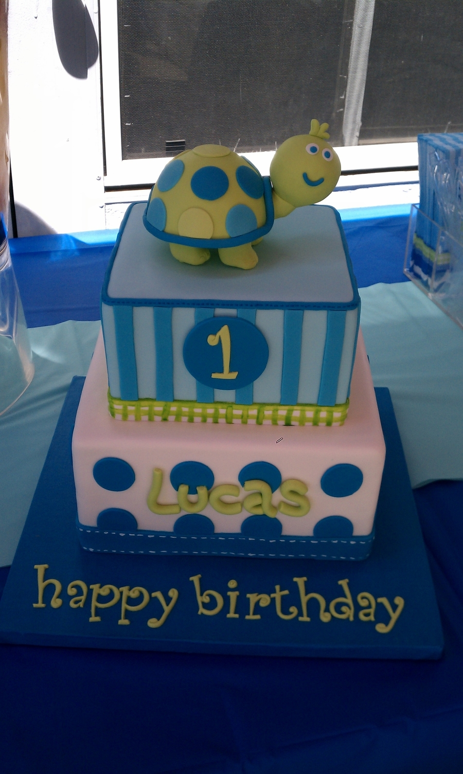 Happy 1st Birthday Lucas Cakecentral