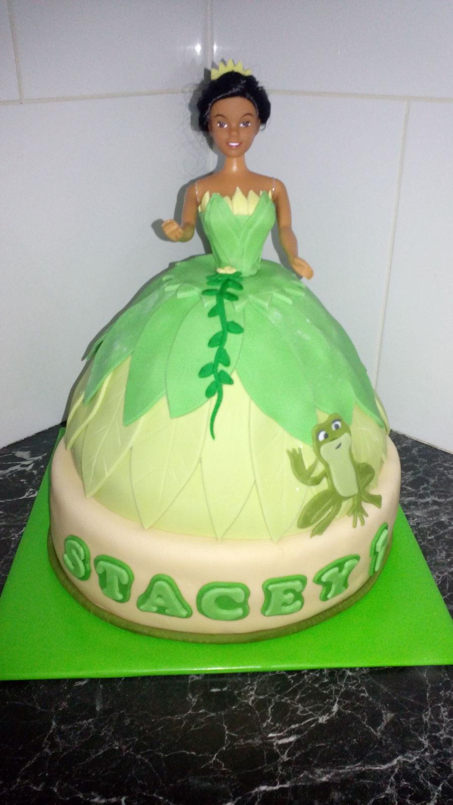 Princess Tiana St Birthday Cake