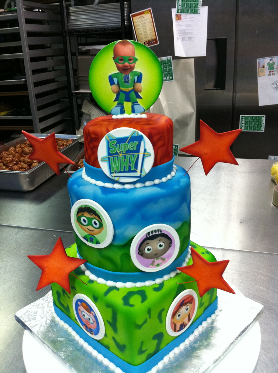 Superb Super Why Birthday Cakecentral Com Personalised Birthday Cards Paralily Jamesorg