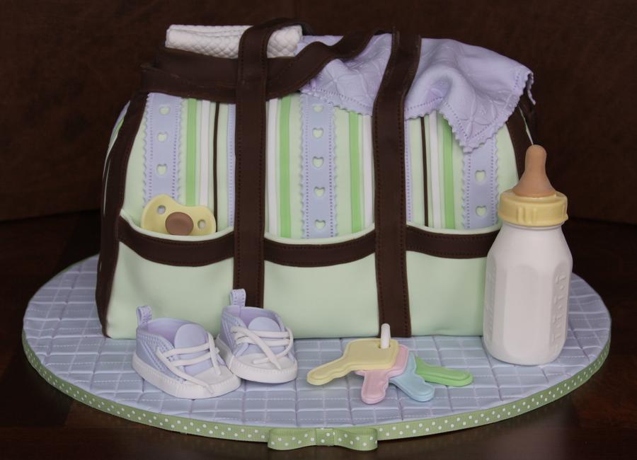 Baby Bottle Cake Tutorial