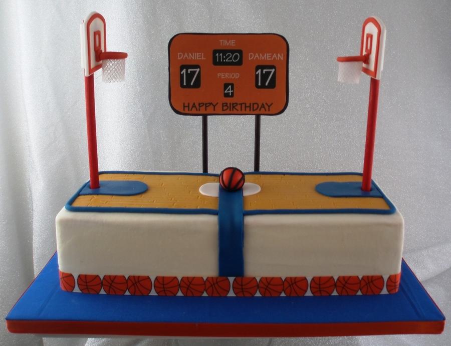 Basketball Court - CakeCentral.com