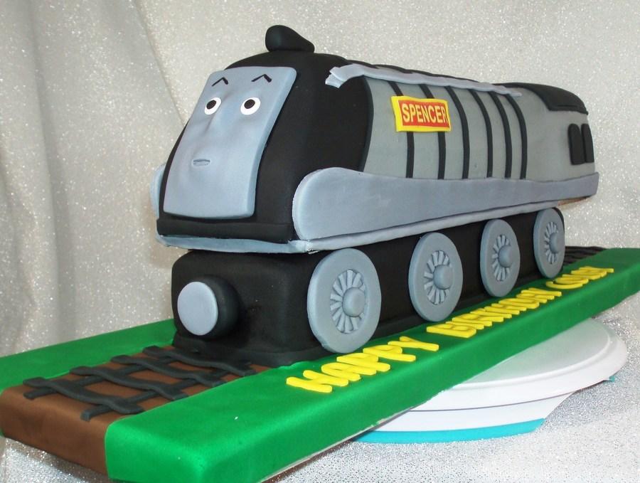 Spencer Train Cakecentral Com