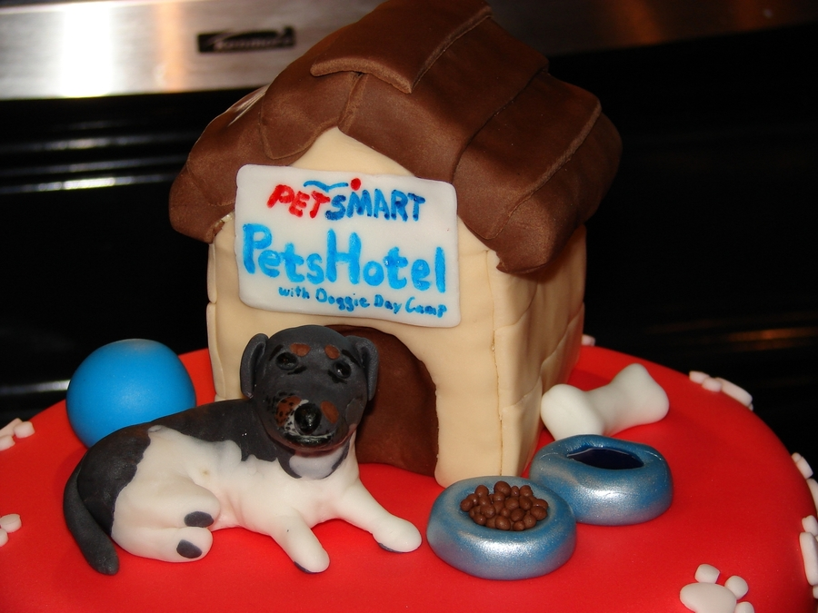PetSmart Doggie Day Camp Cake For A Friend Who Wanted To Give The Great People That Take Care Of Her Adorable Dog Peanut