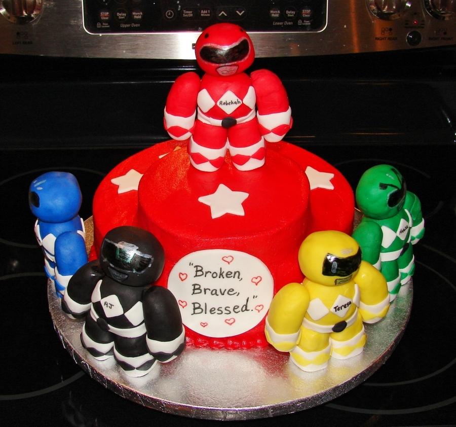 Power Rangers Birthday Cake Cakecentral