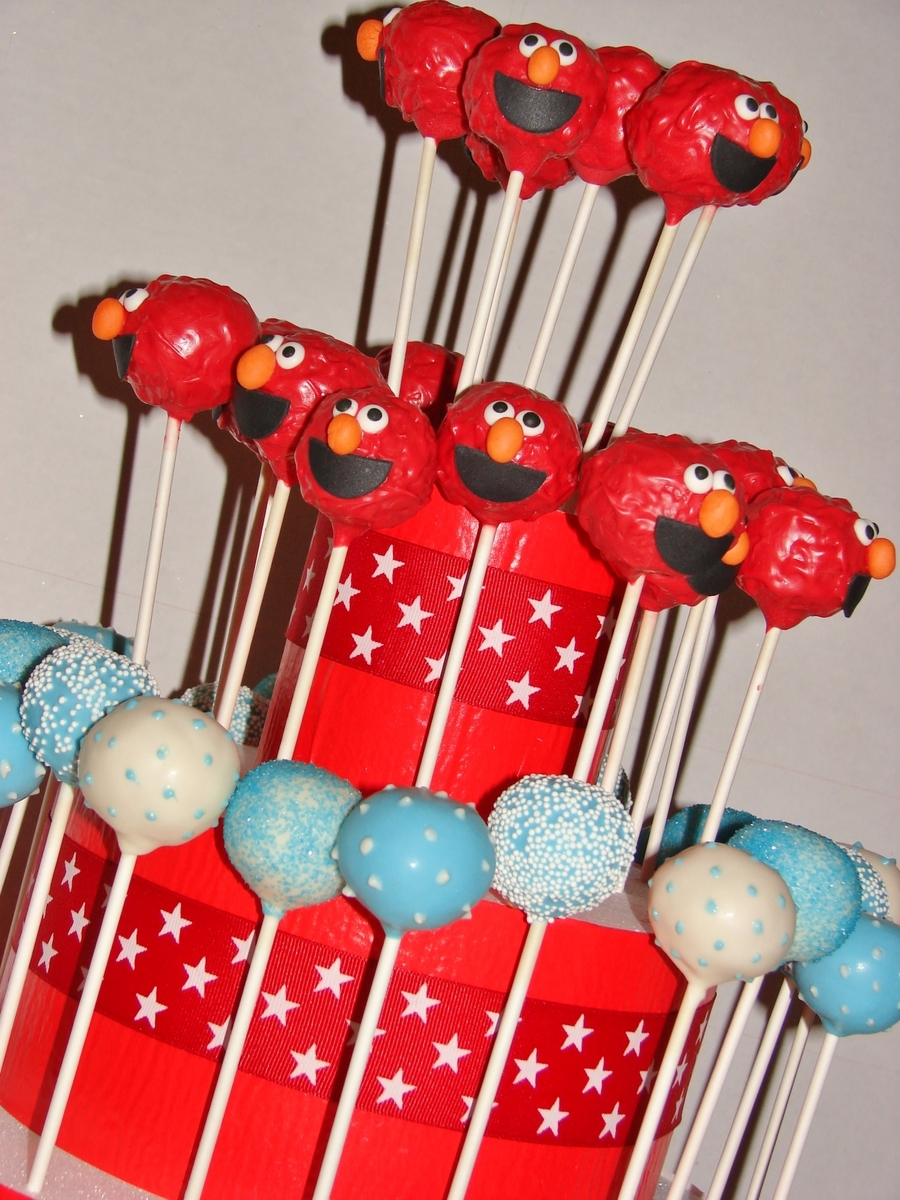 Elmo Cake Pops On Central