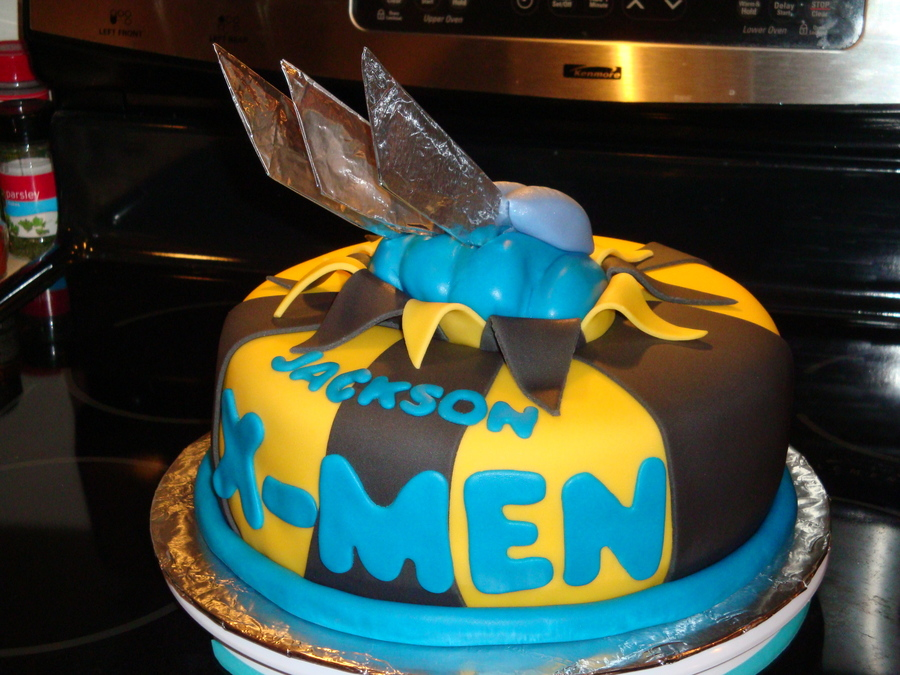 Make Wolverine Birthday Cake